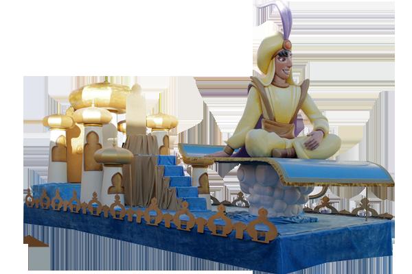 Carrocas Majestik- Aladin