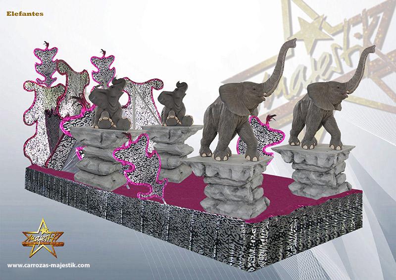 Carroza Elefantes