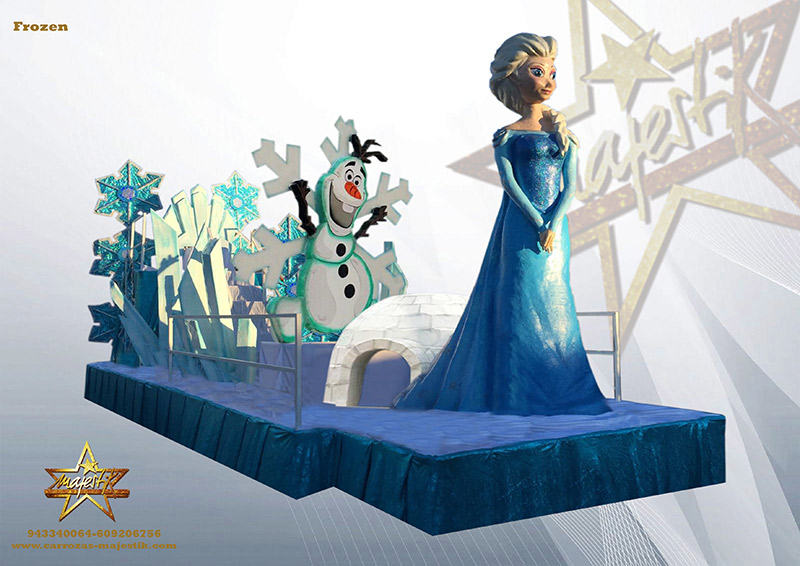 carroza frozen