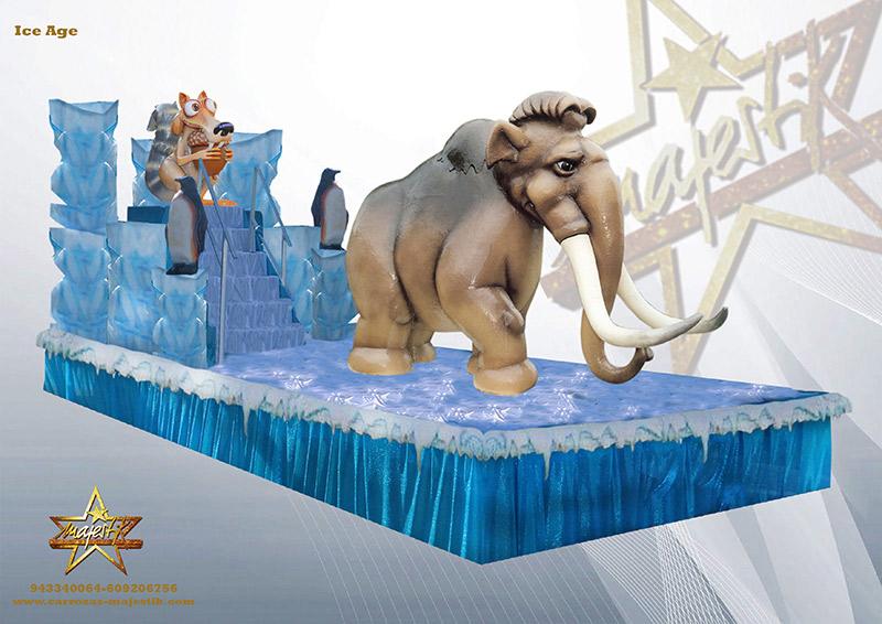 carroza ice age