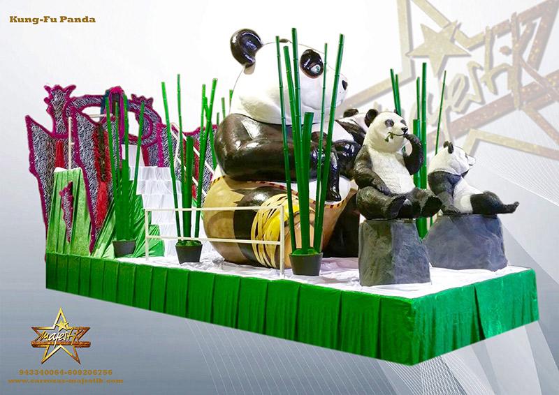 carroza kung fu panda