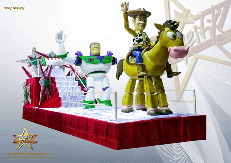 Carrozas Disney para cabalgatas y eventos