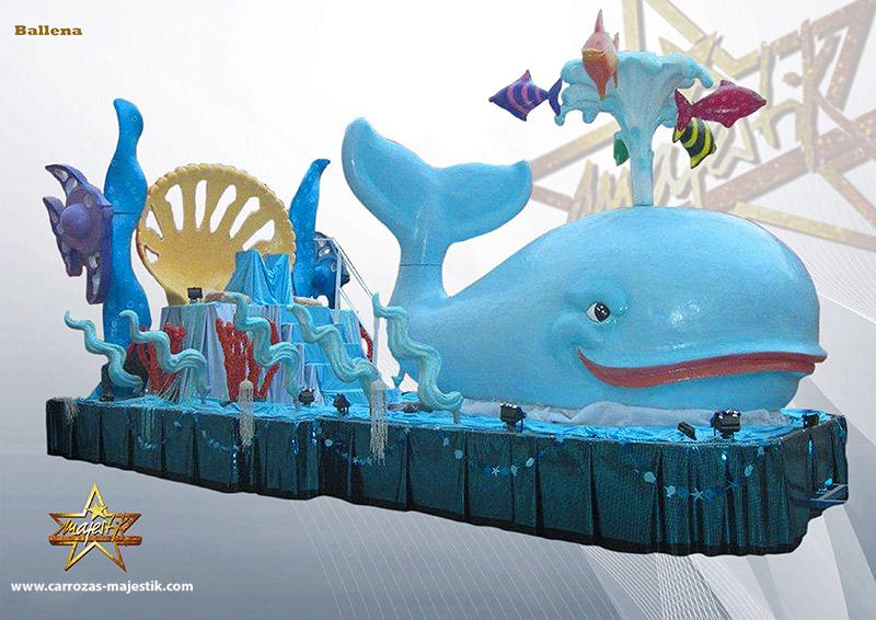 Carroza marina ballena
