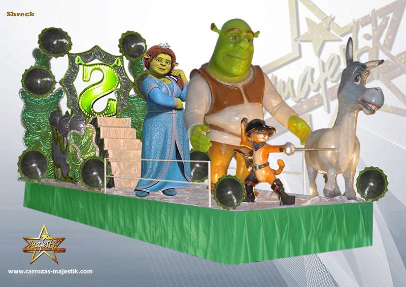 Carroza película Shrek