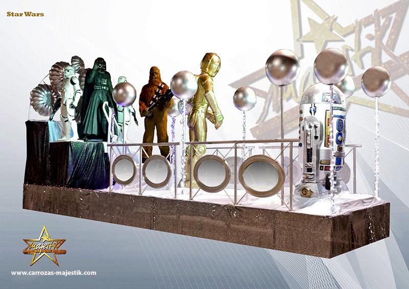 Carroza Star Wars