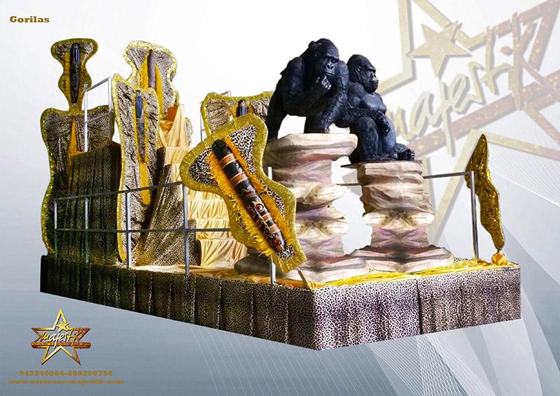 carroza Gorilas