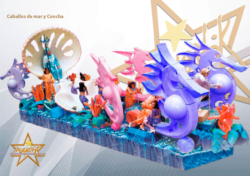 carroza de mar