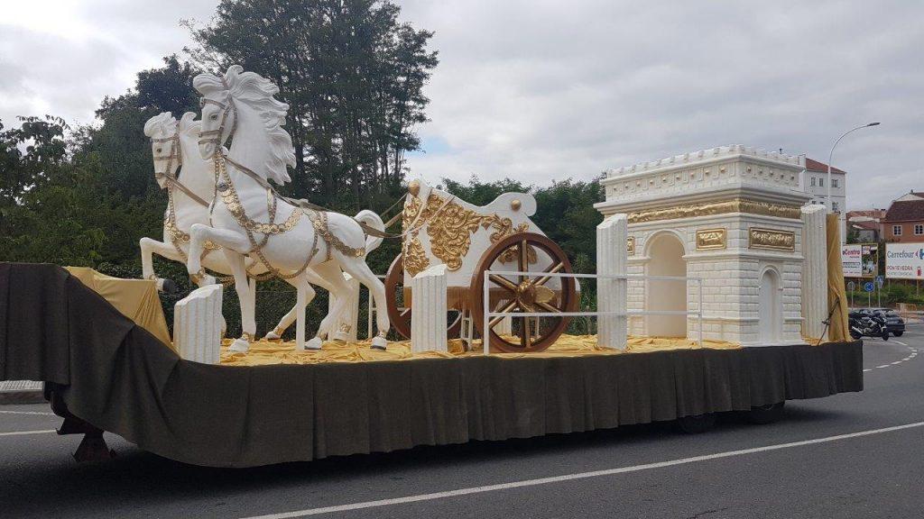 Diseño de carrozas para eventos y desfiles